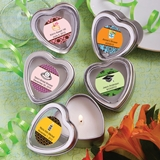 Personalized Expressions Heart-Shaped Candle Tin (Celebrations)
