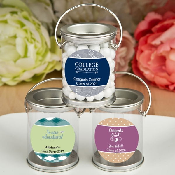 FashionCraft Design Your Own Personalized Mini Paint Can (Graduation)