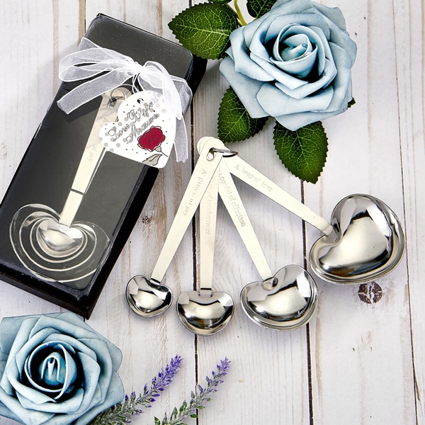 FashionCraft Heart Shaped Measuring Spoons