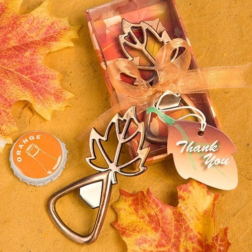FashionCraft Autumn Magic Collection Leaf Design Bottle Opener