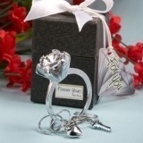 FashionCraft Forever Yours Collection Diamond Ring Design Key Ring
