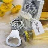 FashionCraft Crown Design Bottle Opener Favor