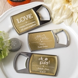FashionCraft Metallics Collections Epoxy Dome Metal Bottle Opener