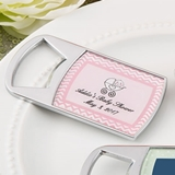 Personalized Expressions Epoxy Dome Metal Bottle Opener (Baby Shower)
