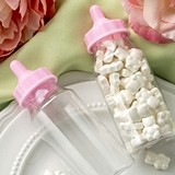 FashionCraft Perfectly Plain Collection Baby Bottle w/ Pink Screw-Top