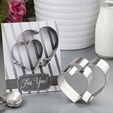 FashionCraft Double Heart Design Cookie Cutter
