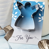 FashionCraft Guardian Angel-Themed Tin Metal Cookie Cutter