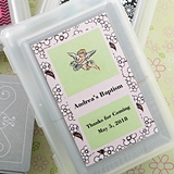 FashionCraft Deck of Playing Cards with Custom Baby Shower Sticker
