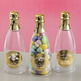 Personalized Metallics Collection Mini Champagne Bottle (Baby Shower)