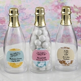 Personalized Expressions Collection Mini Champagne Bottle w/ Foil Top