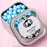 Personalized Expressions Collection Clear-Top Square Mint Tin