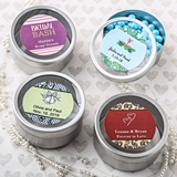 FashionCraft Personalized Expressions Collection Silver-Metal Mint Tin