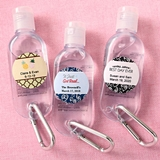 Personalized Expressions Hand Sanitizer with Caribiner (Wedding)