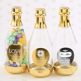 Personalized Metallics Collection Gold-Accented Champagne Bottle