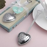 FashionCraft Adorable Heart-Shaped Stainless-Steel Tea Infuser