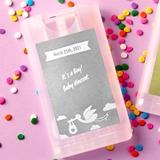 Metallics Plain Collection Press & Spray Hand Sanitizer (Baby Shower)
