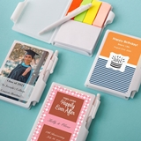 Personalized Expressions Collection White Notebook (Celebrations)