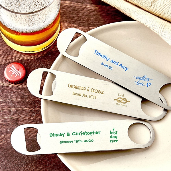 Design Your Own Personalized Bartender Bottle Opener (130 Designs)