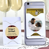 Personalized Expressions Collection Smart Phone Wallet (Wedding)