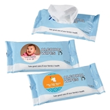 Personalized Expressions Collection 75% Alcohol Wipes (Baby Shower)