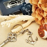 FashionCraft Ocean-Themed Anchor Key Chain Favor