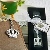FashionCraft Majestic Crown Key Chain Favor
