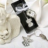 FashionCraft Guardian Angel Key Ring Favor
