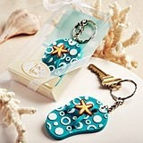 FashionCraft Fun Flip-Flop-Shaped Key Chain
