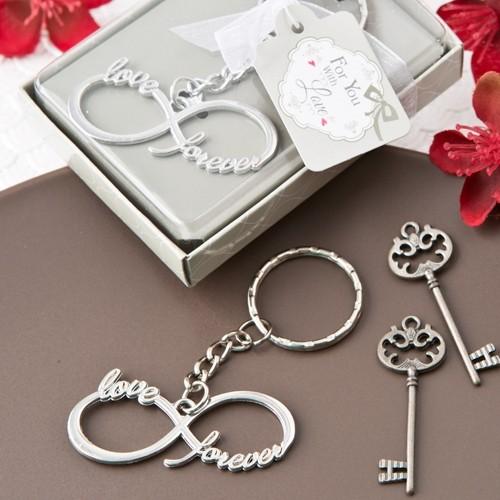 FashionCraft Infinity Design Silver Metal Keychain
