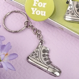 FashionCraft Metal Silver Sneaker Design Key Chain