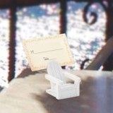FashionCraft Adirondack Chair Place Card Holder