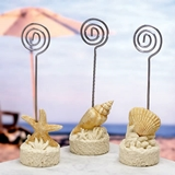 FashionCraft Placecard Holder: Seashore and Shells
