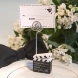 FashionCraft Delightful Movie Clapper Placecard Holder