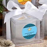 FashionCraft Personalized Expressions Candle Favor (Beach-Themed)