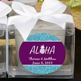 FashionCraft Personalized Expressions Candle Favor (Tropical Designs)