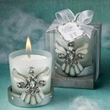 FashionCraft Regal Favor Collection Angel Themed Candle Holder