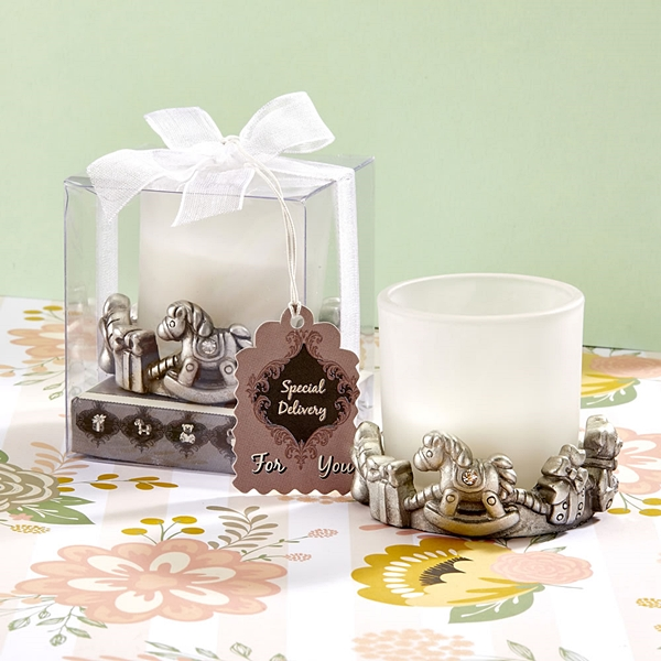 FashionCraft 'Special Delivery' Unique Baby-Themed Candle Holder