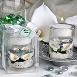 FashionCraft Charming Calla Lily Gel Candle Holder Favor