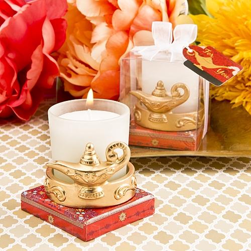 FashionCraft Gold-Finish Alladin's Magic Lantern Votive Candle Holder
