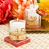 FashionCraft Gold-Finish Alladin's Magic Lantern Votive Candle Holder