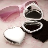 FashionCraft Heart Shaped Compact Mirror Favor
