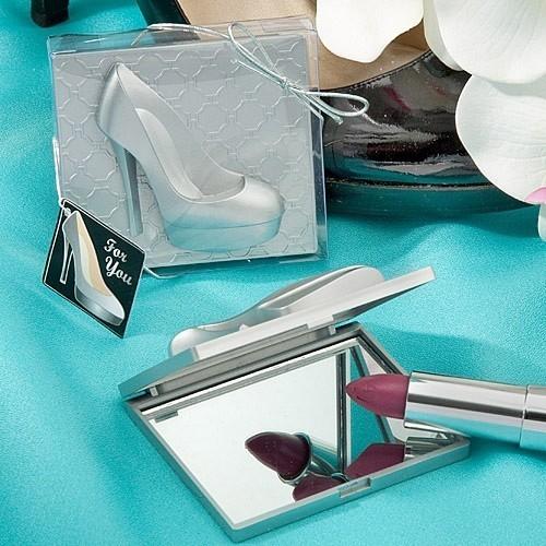 FashionCraft High Heel Shoe Design Mirror Compacts