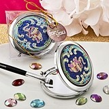 FashionCraft Good Luck Indian Elephant Motif Compact Mirror