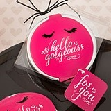 "FashionCraft ""Hello Gorgeous"" Hot Pink-Lidded Compact Mirror"