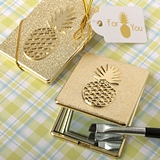 FashionCraft Warm Welcome Collection Pineapple-Themed Compact Mirror