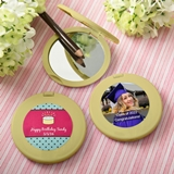 Personalized Expressions Collection Gold Compact Mirror (Celebrations)