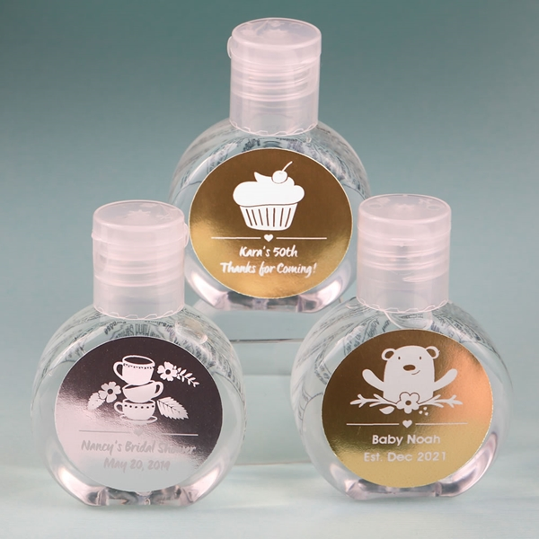 Personalized Metallics Collection 60ml Hand Sanitizer (Celebrations)