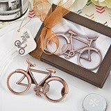 FashionCraft Antique-Copper-Colored-Metal Bicycle Design Bottle Opener