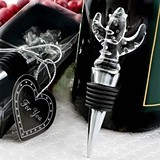FashionCraft Choice Crystal Cactus Design Bottle Stopper
