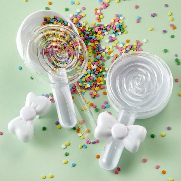 FashionCraft Fillable Lollipop-Shaped Favor Container